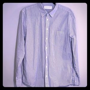 Everlane Plaid Buttoned-down
